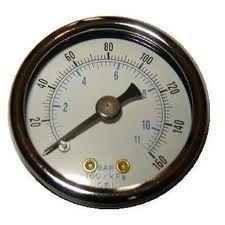Am besten Luftkompressor-digitale Manometer, Flüssigkeit füllten Manometer
