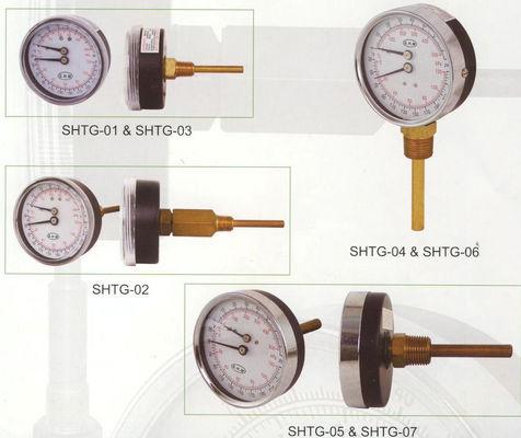 Am besten Wählen Sie 80mm Tridicator Messgerät, Temperatur-Messgerät für Warmwasserspeicher