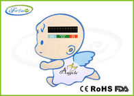 Waterproof Digital LCD Baby Bath Thermometer Card for Children Safe Bathing 32 ~ 42 ℃